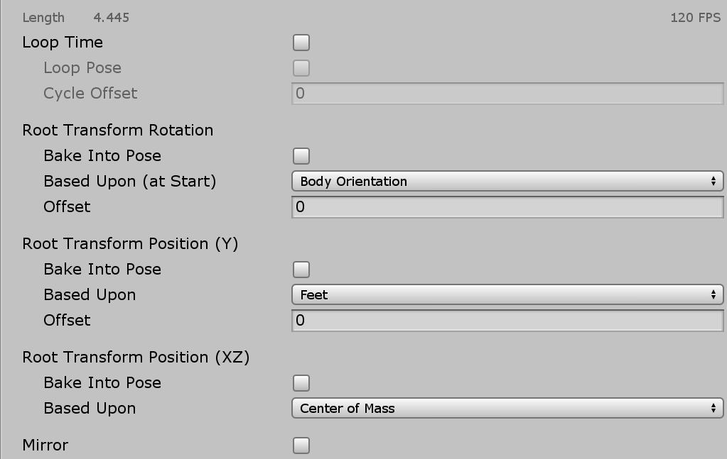 Unity】アニメーションクリップのプロパティを理解する – XR-Hub